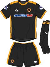 Wolverhampton Wanderers FC Away Kit
